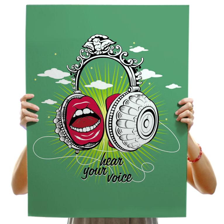 Hear your voice
