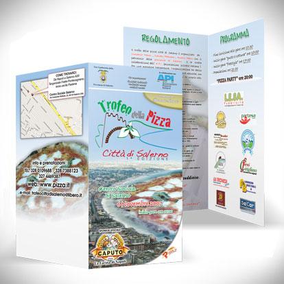 Trofeo della pizza Salerno - Brochure