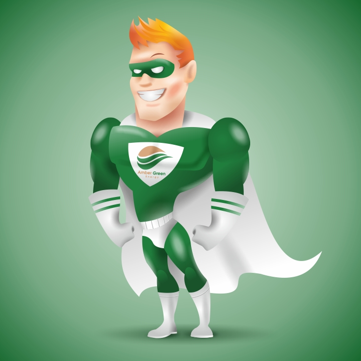 Amber Green Man